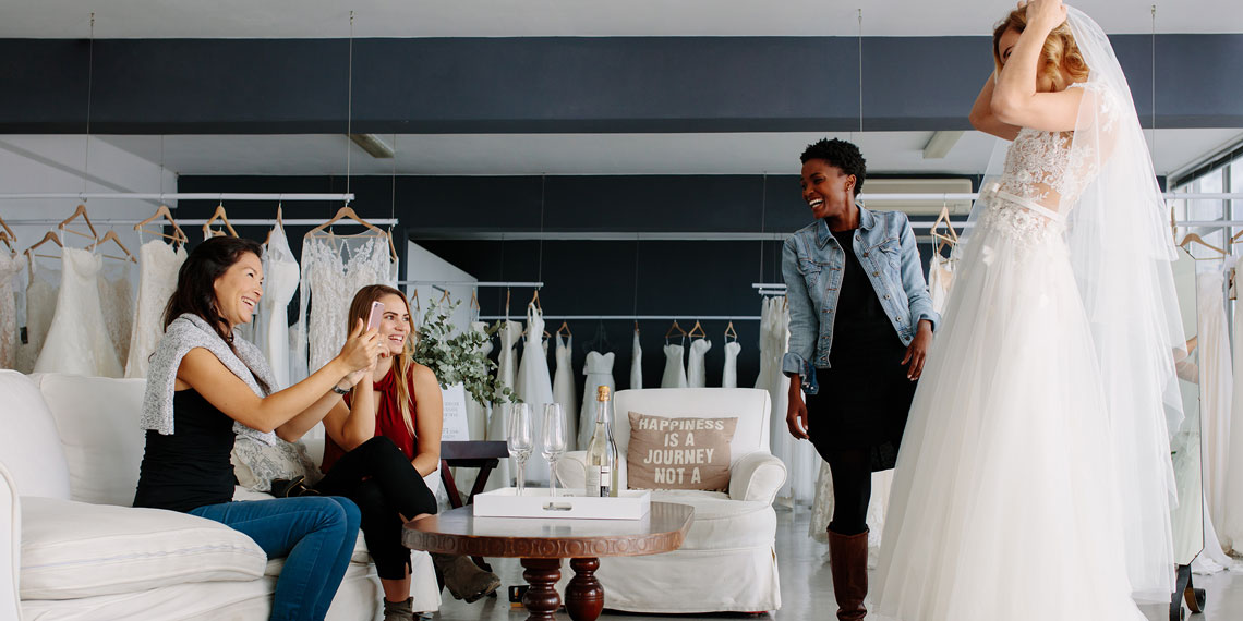 5 Wedding Dress Shopping Tips That Are Total B.S.
