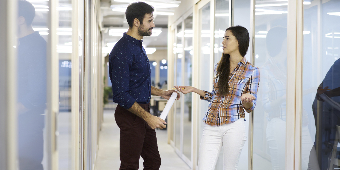QUIZ: Is She Flirting With You, Or Is She Your Coworker Asking For Feedback On A Presentation?