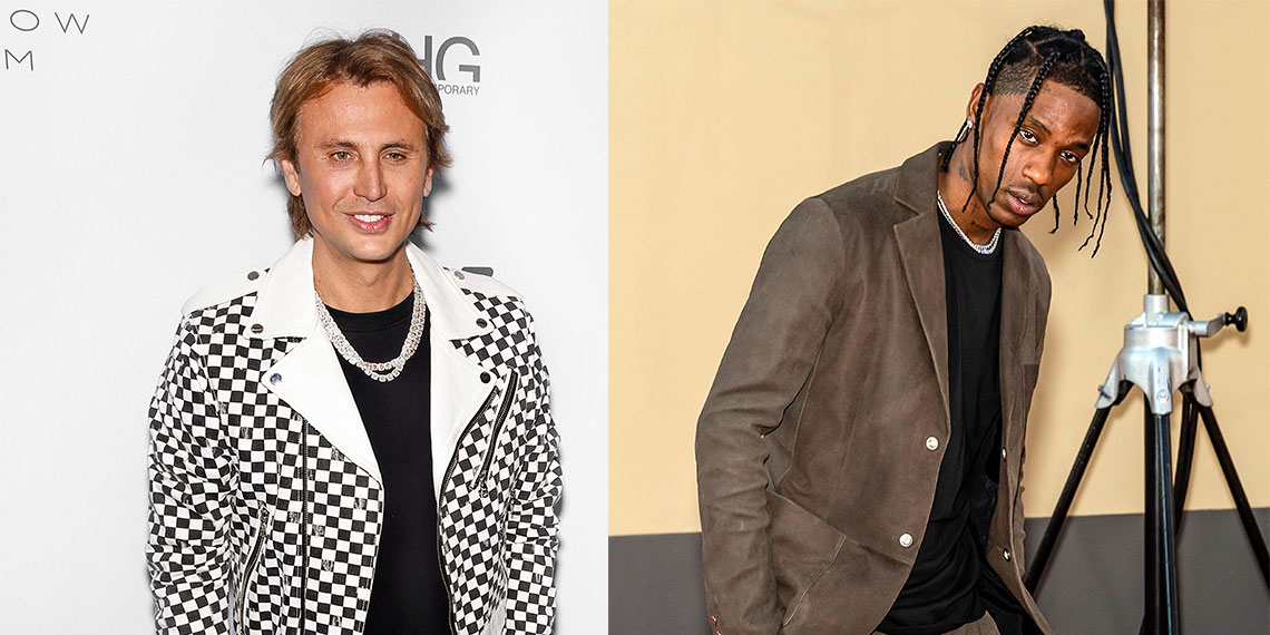 Jonathan Cheban And Travis Scott Were At The Same Festival Last Night