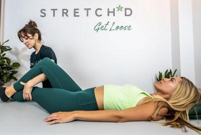 stretch'd