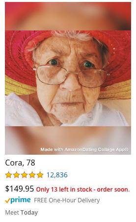Amazon Dating Site Cora