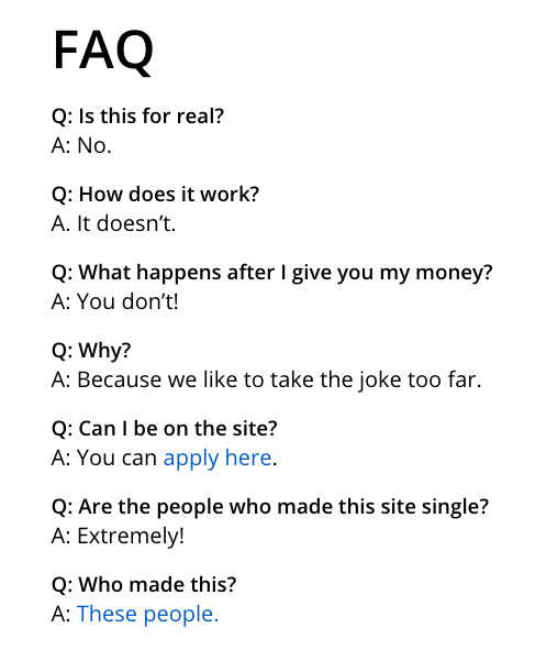 Amazon Dating FAQs