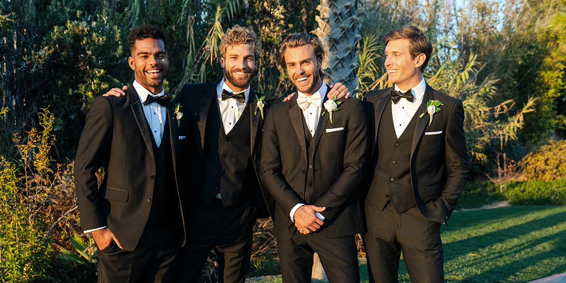 How To Pick Out A Tux For Your Groom & Groomsmen   Betches