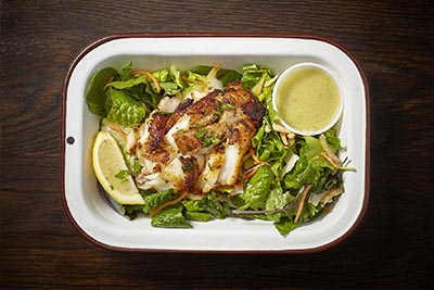 Daily Catch - Grilled Salad