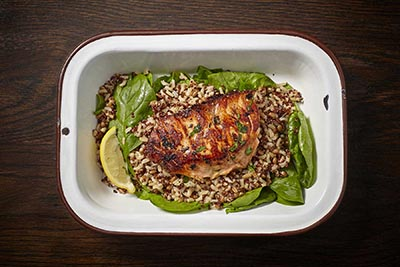 Salmon - Teriyaki Scallion Powerbox