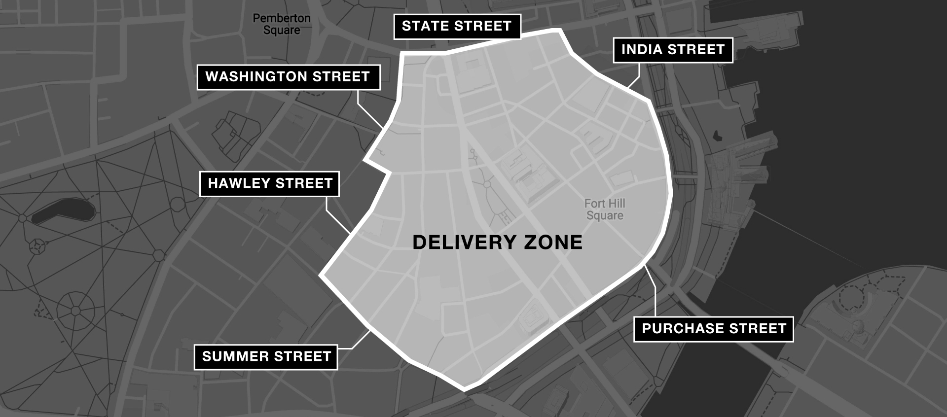Boston Delivery Zone