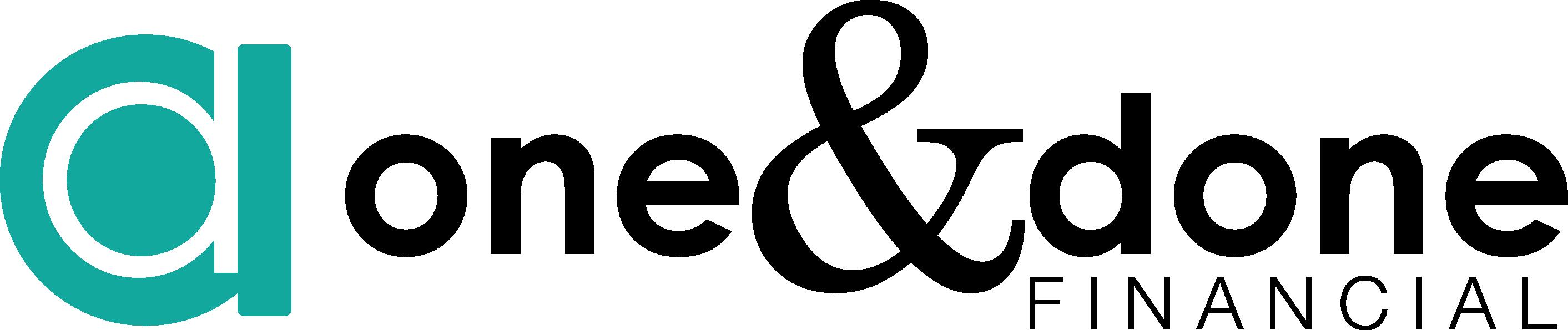 Original one and done logo horizontal color