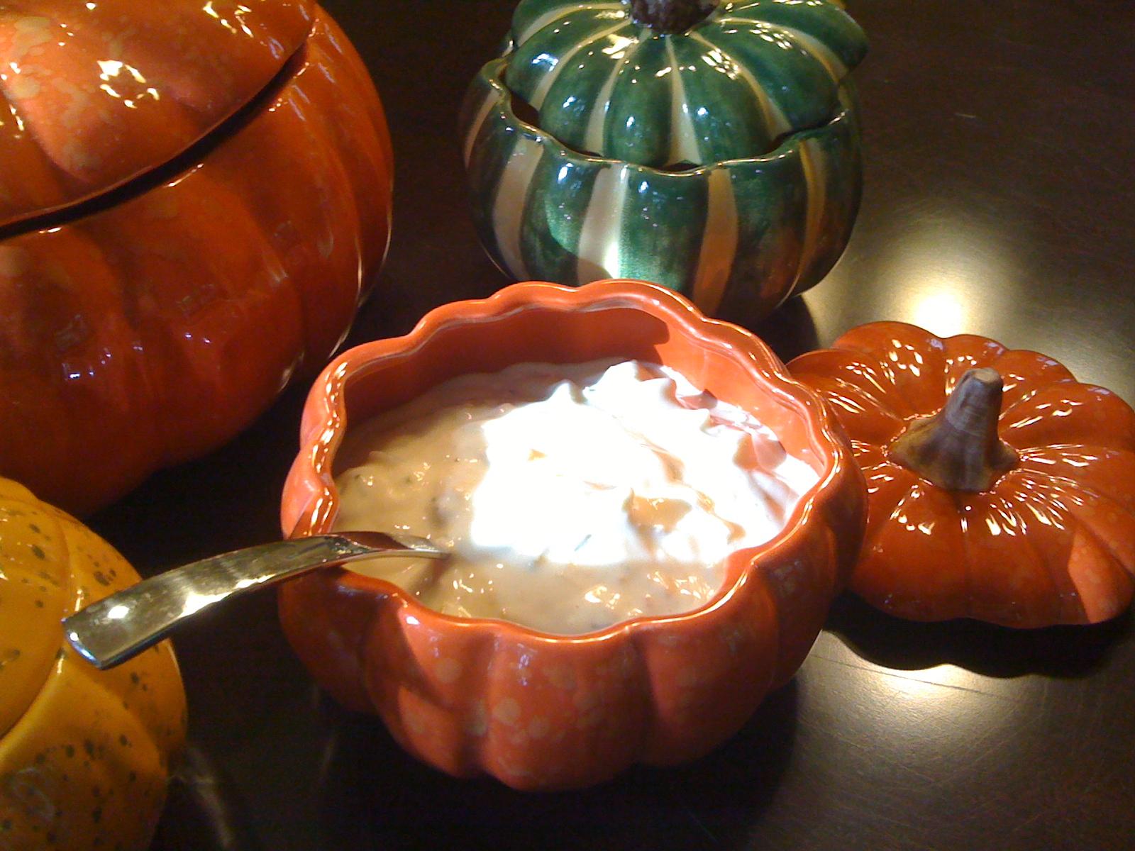 Halloween Clam Chowder