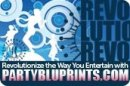 PartyBluPrints - Blue Logo