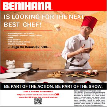 Butcher job at Benihana - Burlingame (1013) in Burlingame, CA