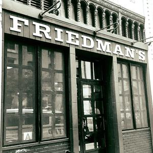Friedmans logo