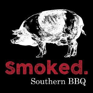 Smoked. Southern BBQ logo