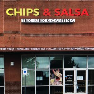 Chips & salsa Tex-Mex & cantina logo