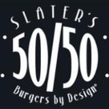 Slaters 50/50 logo
