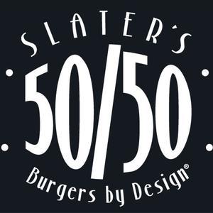Slater's 50/50 logo