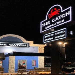 The Catch: Denton logo