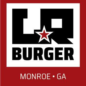 LR Burger logo