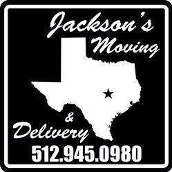 Jacksons Moving and Delivery logo