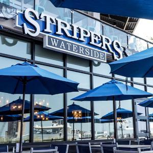 Stripers - Waterside logo