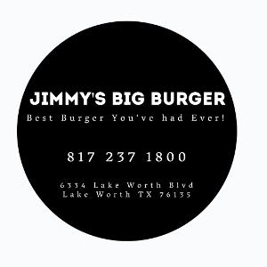Jimmy's Big Burger Lake Worth logo