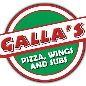 Galla's Pizza logo