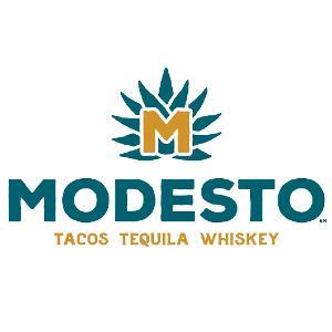 Modesto Taco Tequila Whiskey logo