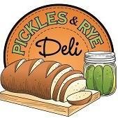 Pickles & Rye Deli logo