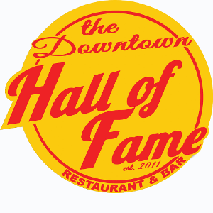 The Downtown Hall of Fame Restaurant & Bar logo