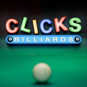 Clicks Billiards logo