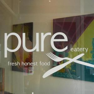 Pure Eatery Fishers logo