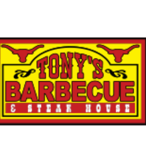 Tony's BBQ & Steakhouse logo