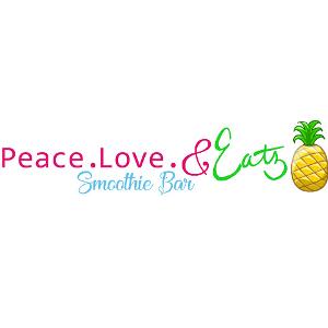 Peace. Love. & Eatz Smoothie Bar logo