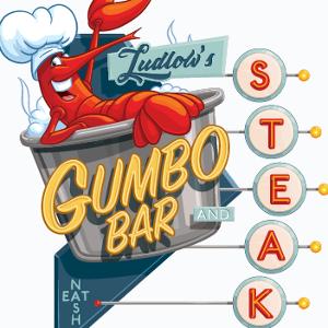 Ludlow's Gumbo Bar & Steak logo