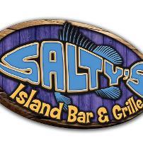 Salty's Island Bar & Grille logo