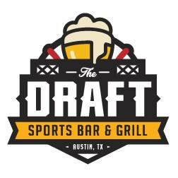 The Draft Sports Bar & Grill logo