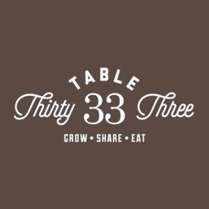 Table 33 logo