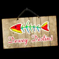 Dewey Destin's Harborside logo