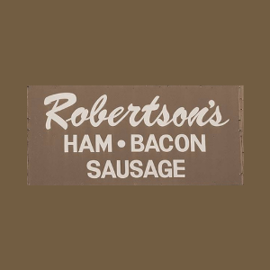Robertson's Ham / The Red Barn logo