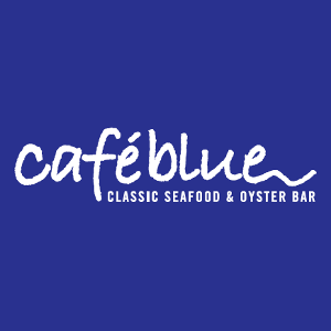 Cafe Blue Downtown Austin logo