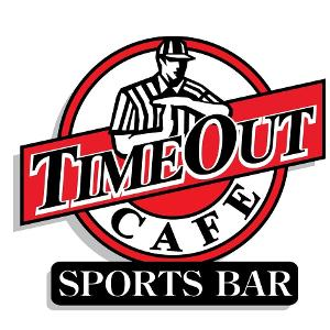 Time Out Cafe Sports Bar logo