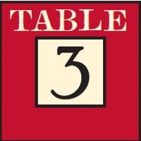 Table 3 Restaurant and Market logo