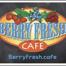 Berryfresh Cafe - Stuart logo