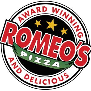 Romeos Pizza logo