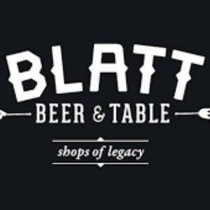 Blatt Beer and Table - Legacy logo
