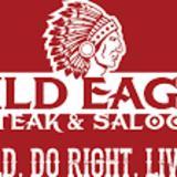 Wild Eagle Steak & Saloon logo