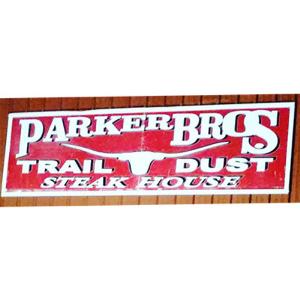 Parker Brothers Traildust Steakhouse logo