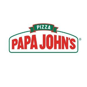 01065 Papa Johns - Garland logo