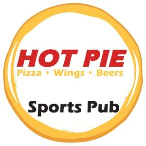 Hot Pie Pizza Sports Pub - Sunday Football Ticket logo