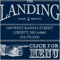 The Landing Eatery & Pub logo