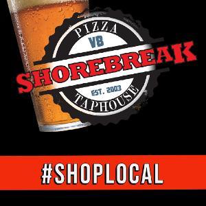 ShoreBreak Pizza & TapHouse logo